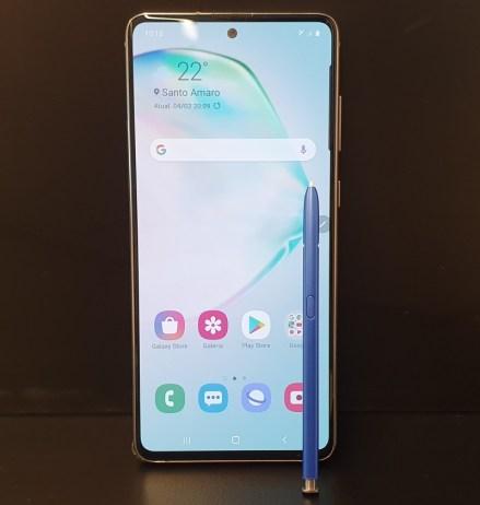 Galaxy Note 10 Lite: S-Pen
