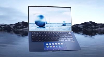 Notebook Asus Zenbook 14 tem duas telas e design compacto