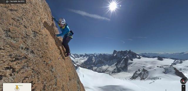 El Mont Blanc, ahora disponible en Google Street View