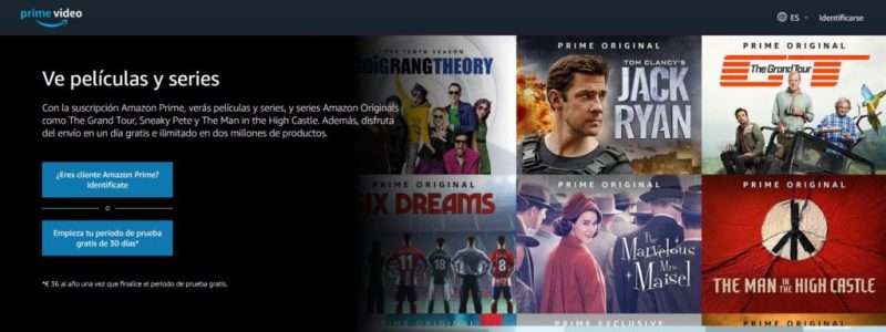Amazon prime Video - Libros gratis y música cuatro meses por solo 0'99 euros en Amazon Prime