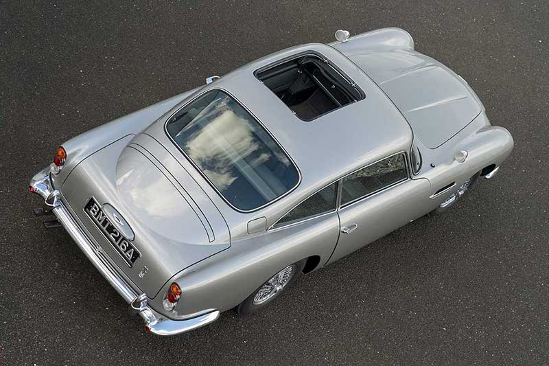 Aston Martin DB5 Goldfinger Continuation 30 - El Aston Martin DB5 Goldfinger vuelve después de 50 años