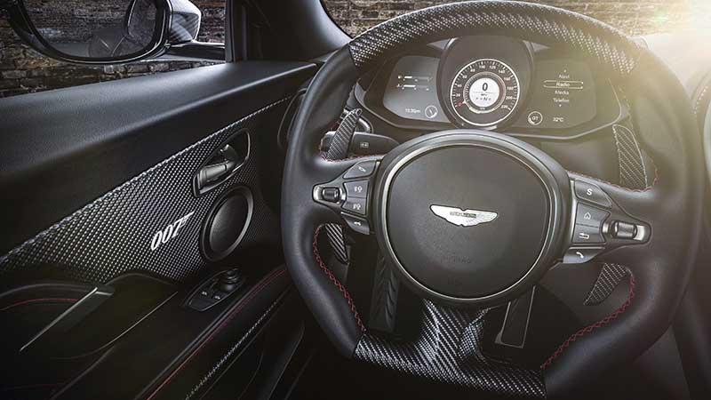 Aston Martin DBS Superleggera 007 Edition 09 - Aston Martin crea una edición limitada 007 de coches deportivos para celebrar el estreno de No Time To Die