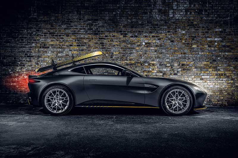 Aston Martin Vantage 007 Edition 02 - Aston Martin crea una edición limitada 007 de coches deportivos para celebrar el estreno de No Time To Die