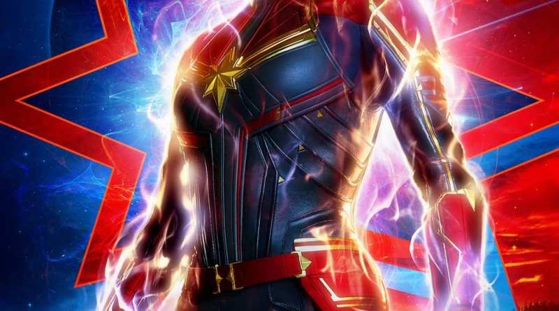 Brie Larson Captain Marvel Poster - Ya está aquí la Capitana Marvel (al menos su tráiler)