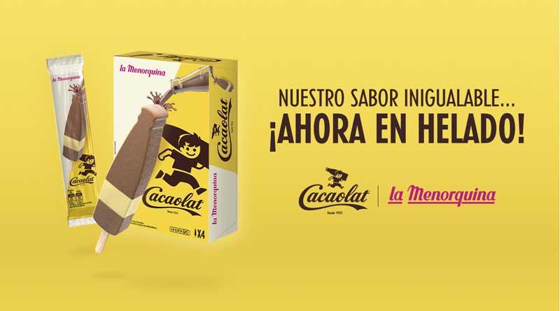 Cacaolat 1 - Cacaolat lanza su primer helado y sus cápsulas de batido de cacao