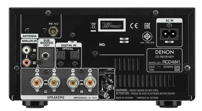 Denon D-M41: completo micro sistema Hi-Fi para tu casa