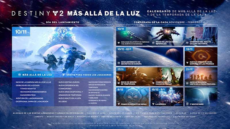 Destiny2 - Ya podemos jugar a Destiny 2: Más allá de la luz