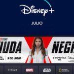 Disney julio Dest 150x150 - Viuda Negra arrasa en taquilla... y en Disney+