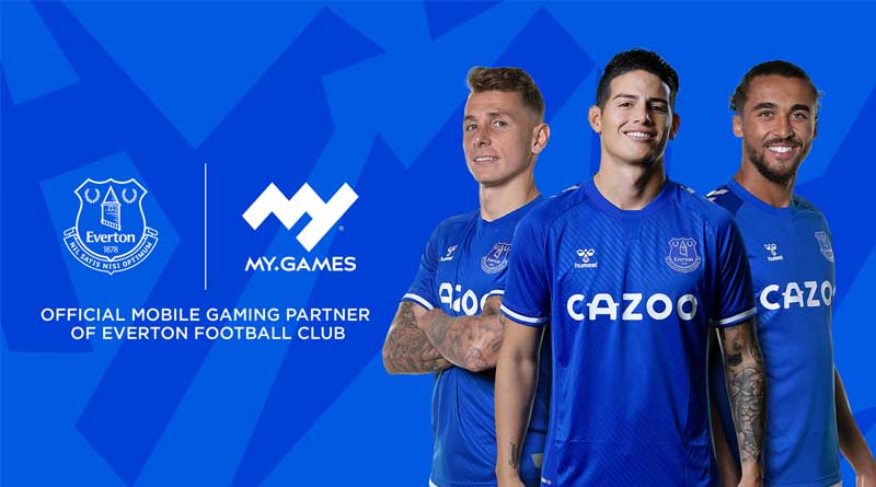 EVERTON FOOTBALL CLUB Y MY.GAMES  - MY.GAMES y Everton Football Club se unen para llevar sus títulos a fans de los 'Blues' en todo el mundo
