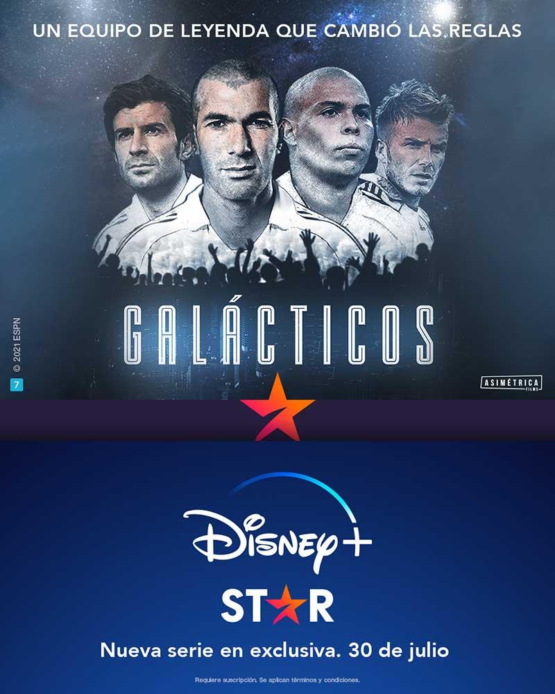"""Galacticos Real Madrid2 - """"Galácticos"""", la serie sobre el Real Madrid, llega a Disney+ a través de Star"""