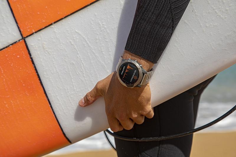 Garmin solar 4 - Garmin añade a la gama fenix 6 Delta carga solar y más autonomía