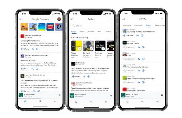 Google Podcast - Google Podcasts, ahora también disponible en iOS