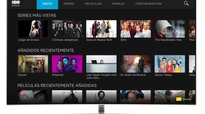 Samsung y HBO España lanzan la primera App para Smart TV