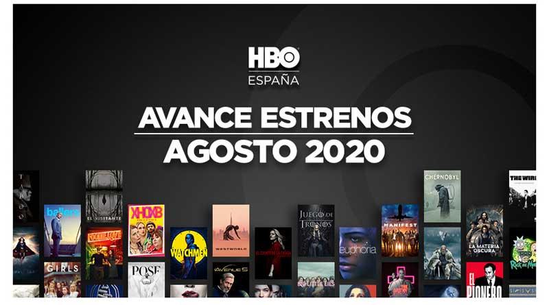 HBO en agosto