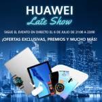 Huawei Late Show Dest 150x150 - Huawei lanza seis nuevos e interesantes dispositivos: los smartwatches Watch Fit y Watch GT2 Pro, los MateBook X y MateBook 14 AMD, los auriculares TWS FreeBuds Pro y los FreeLace Pro