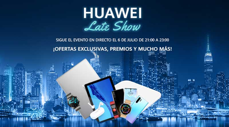 Huawei Late Show