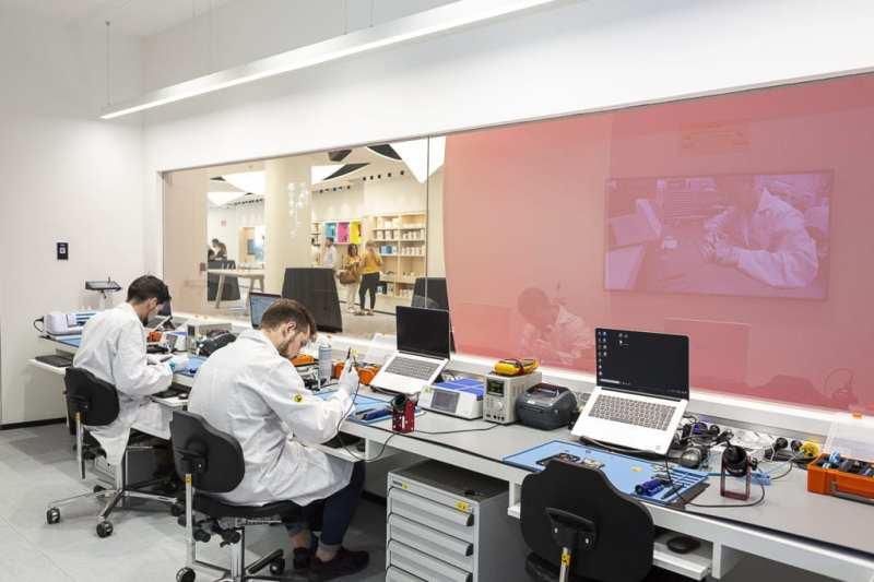 Huawei Press 001 - Visitamos #EspacioHuawei, la nueva (y enorme) tienda en Madrid