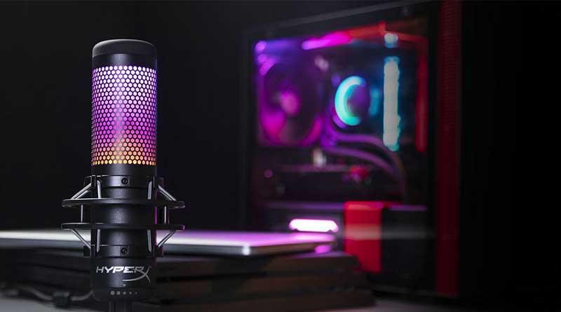 HyperX QuadCast Dest 1 - Lo mejor para el #InternationalPodcastDay: HyperX lanza el micrófono USB QuadCast S