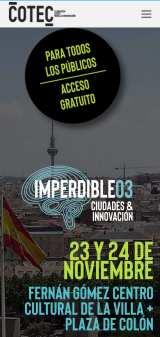 Imperdible_03: La feria de la ciudad del futuro