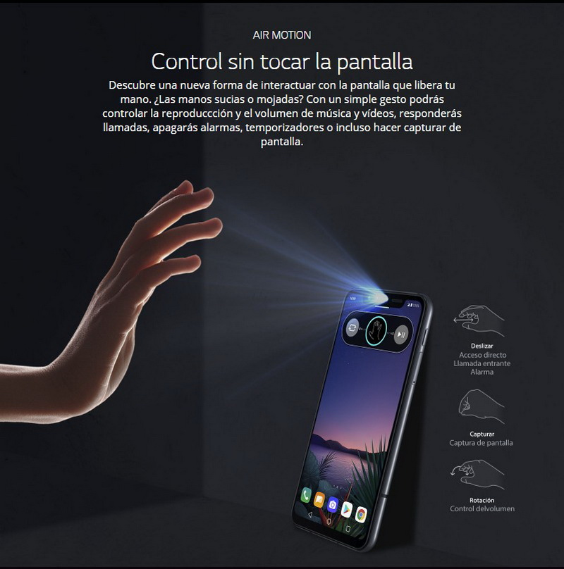 LG G8s ThinQ 15 - LG G8s ThinQ Smart Green: Review completo del smartphone que se controla sin manos