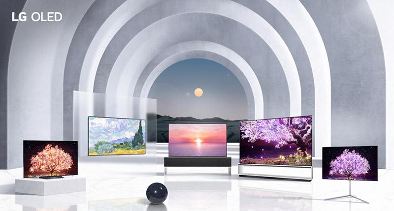 LG OLED TV Lineup - LG refuerza su cartera de productos: aspirador inteligente, casa de diseño, portátiles ultraligeros, monitores gamer y, por supuesto, las mejores Smart TV OLED