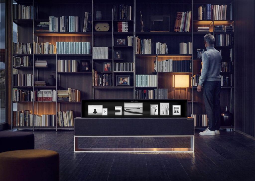 LG Signature Enrollable 4 1024x727 - LG presenta el primer televisor OLED enrollable