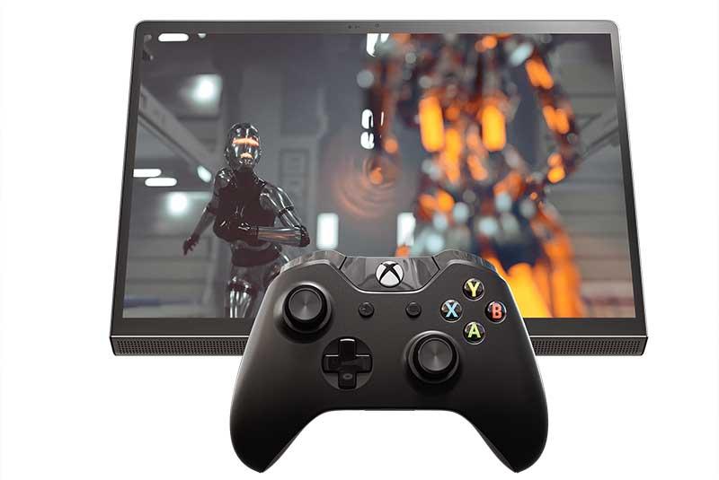"""Lenovo Yoga Tab 13 Connectivity Gaming Controller - Lenovo renueva su gama de tabletas y presenta una """"de cine"""""""