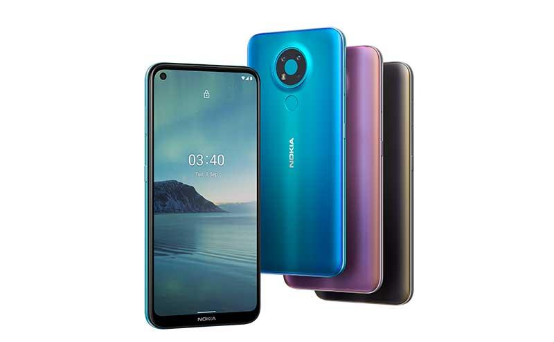 Nokia 3 - Nuevos lanzamientos de Nokia: su primer smartphone 5G, dos gamas de entrada y auriculares true wireless