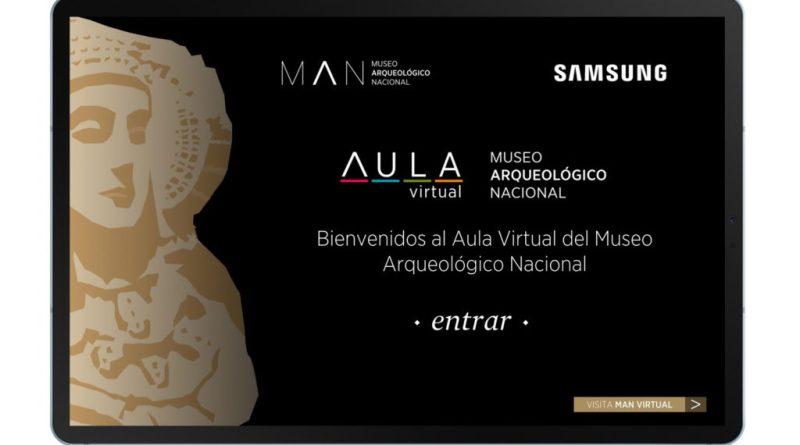 El Museo Arqueológico Nacional llega a todas las aulas gracias a Samsung