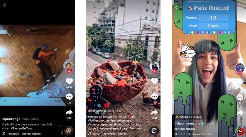 TikTok2 - Nuevo filtro y un challenge de TikTok para celebrar la Pascua