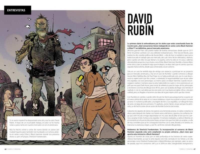 Tomos y grapas Magazine: la nueva revista de cómics