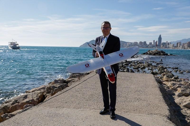 Vodafone Drones 5G 4 - Vodafone realiza el primer vuelo mundial de drones en entorno urbano mediante la red 5G