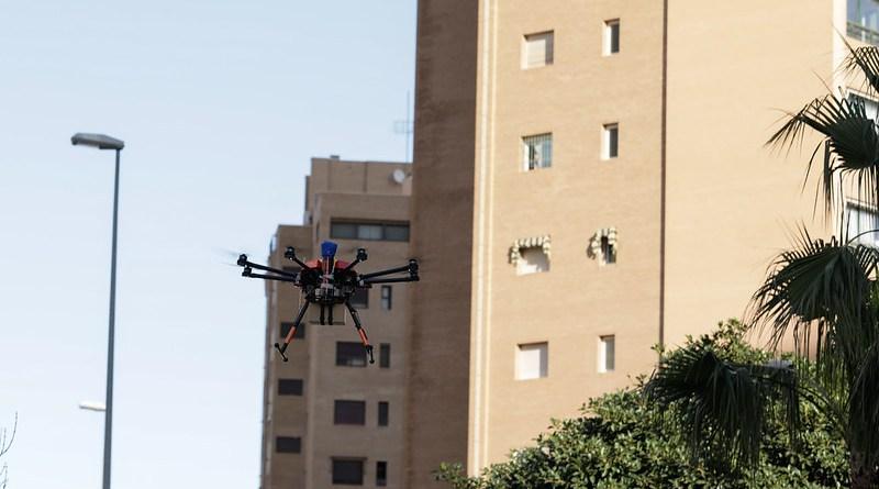 Vodafone realiza el primer vuelo mundial de drones