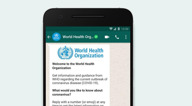 WhatsApp-OMS-Coronavirus