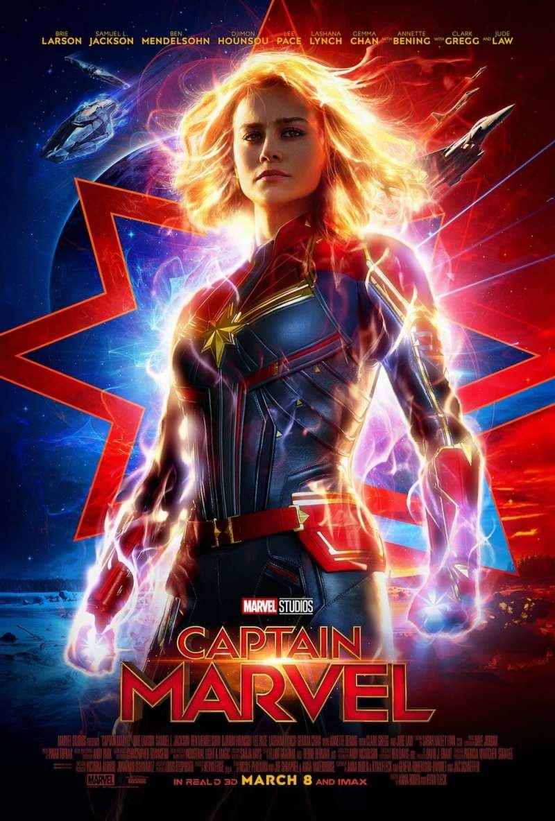 brie larson captain marvel poster4691416663826348223 - Ya está aquí la Capitana Marvel (al menos su tráiler)