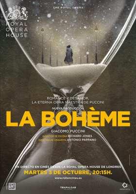 cartel web laboheme ROH 210x300 - La Bohème de Royal Opera House llega en directo a los cines