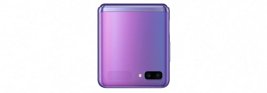 sm f700f galaxy z flip closed front purple mirror 191224 2 - Samsung Galaxy Z Flip ya ha agotado sus primeras unidades a la venta en España