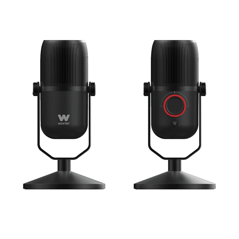 woxter mic studio 100 pro 4 - Micrófono USB Woxter, condesanción a buen precio