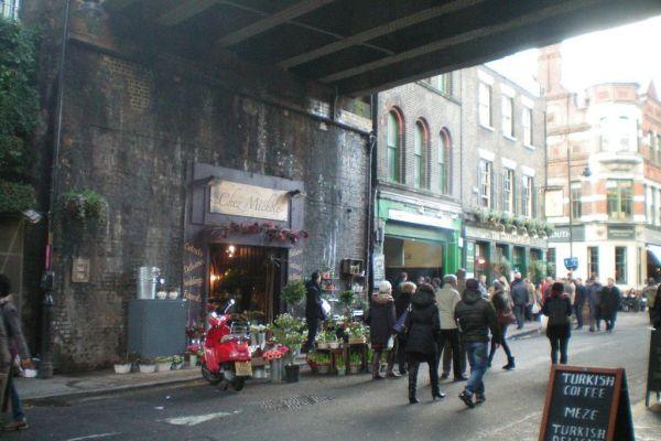 Una parada obligada en Borough Market