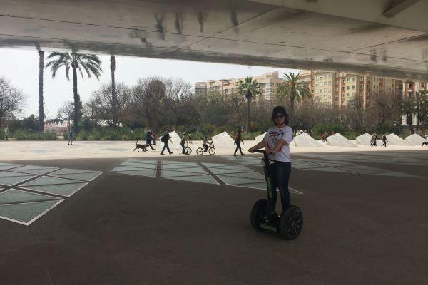 Ruta por Valencia subida en 'segway'