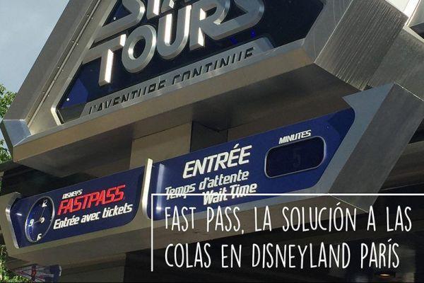 Fast Pass, la solución al problema de las colas en Disneyland París