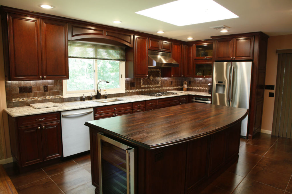knoxville kitchen cabinets white faucets installed products gallery – cafecountertops™ | solid wood ...