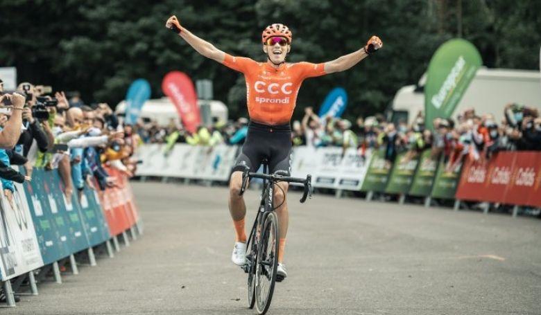 Vainqueur du Tour de Hongrie 2020, Attila Valter vient renforcer la formation française. (Crédits : Vanik Zoltan)