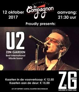 U2 ZEN GARDEN (Best International Tribute Band) @ Gorredijk | Friesland | Pays-Bas
