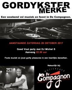 GORDYKSTER MERKE (met DJ MIchel S)
