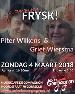 Compagnon Frysk met Piter Wilkens en Griet Wiersma