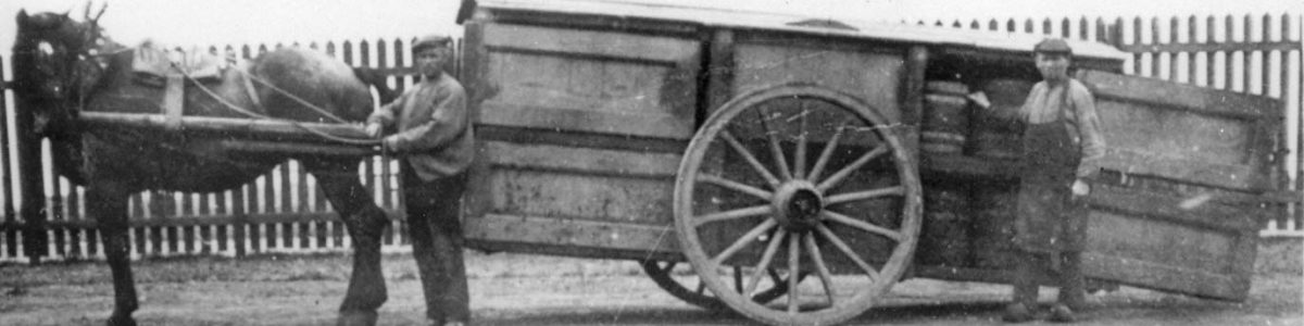 Reiniging tonnetjes - 03 - 1900 - Tunnegieskar