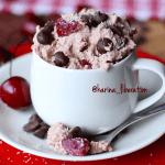 Cherry Ripe Cookie Dough