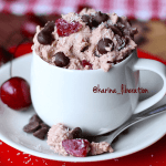 Cherry Ripe Cookie Dough