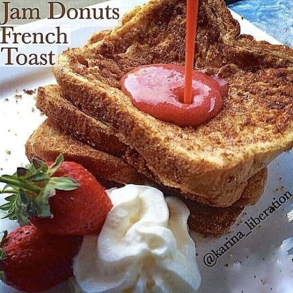 Jam Donut Inspired French Toast!
